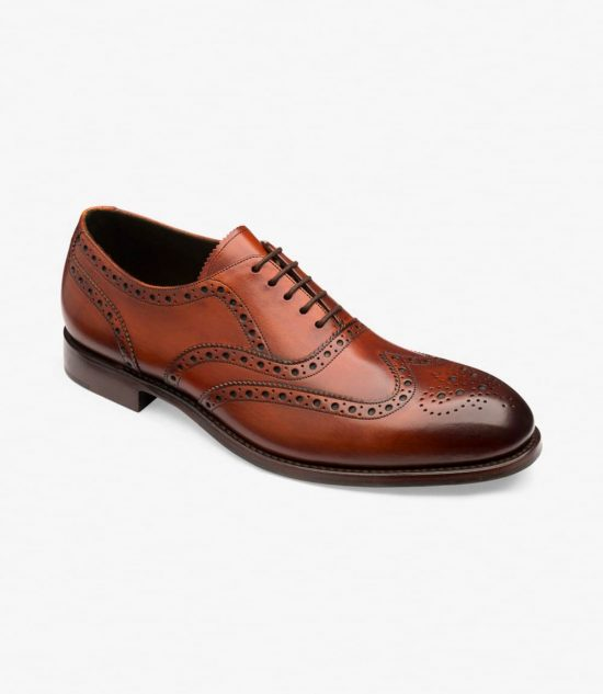 Loake Hepworth Chestnut Brown
